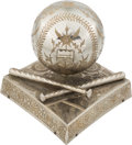 Baseball Collectibles:Others, Early 1900's Ornate Baseball Themed Music Box....