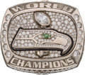Football Collectibles:Others, 2013 Seattle Seahawks Super Bowl XLVIII Championship Ring Presentedto Wide Receiver Arceto Clark....