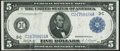 Fr. 854 $5 1914 Federal Reserve Note Very Fine+