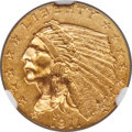 Indian Quarter Eagles, 1911-D $2 1/2 MS62 NGC. NGC Census: (948/942). PCGS Population: (560/776). CDN: $4,900 Whsle. Bid for NGC/PCGS MS62. Mintag...