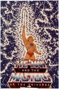 Animation Art:Poster, He-Man Master of the Universe and She-Ra Princess ofPower Studio Promo Poster Group (Filmation, 1983/1985...(Total: 2 Items)