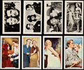 """Non-Sport Cards:Lots, 1935 Gallagher """"Famous Film Scenes"""" & 1938 R & J Hill """"Scenes from the Films"""" Sets (2)...."""