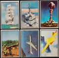 """Non-Sport Cards:Lots, 1954 Bowman """"Power For Peace"""" Complete Set (96)...."""