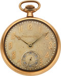 Timepieces:Pocket (post 1900), South Bend Special Order 21 Jewel Presented To Albert Erskine President of Studebaker. ...