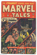 Golden Age (1938-1955):Horror, Marvel Tales #114 (Atlas, 1953) Condition GD/VG. Bill Everettcover. Jim Mooney and George Tuska art. Overstreet 2004 GD 2.0...