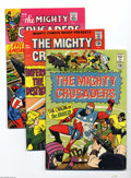 Silver Age (1956-1969):Superhero, Mighty Crusaders #1-5 Group (Radio Comics, 1965) Condition: Average VF-. Issues # 1 (Origin of the Shield), 2, 3, 4, and 5 a... (Total: 5 Comic Books Item)