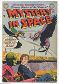 Golden Age (1938-1955):Science Fiction, Mystery in Space #7 (DC, 1952) Condition: GD/VG. A story drawn byAlex Toth is the highlight of this science fiction book, b...
