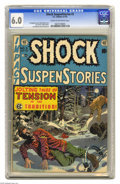 Golden Age (1938-1955):Horror, Shock SuspenStories #3 (EC, 1952) CGC FN 6.0 Cream to off-whitepages. Wally Wood cover. Wood, Jack Kamen, Joe Orlando, and ...