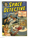 "Golden Age (1938-1955):Science Fiction, Space Detective #1 (Avon, 1951) Condition: GD/VG. Space Detectivebegins. ""Opium Smugglers of Venus"" drug story. Wally Wood ..."