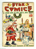 Platinum Age (1897-1937):Miscellaneous, Star Comics #8 (Centaur, 1937) Condition: GD/VG. This issuefeatures a severed head centerspread. Popeye appearance by Bob W...