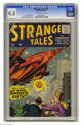 Silver Age (1956-1969):Horror, Strange Tales #68 (Marvel, 1959) CGC VG+ 4.5 Off-white to whitepages. Jack Kirby cover. Kirby, Steve Ditko, and John Buscem...