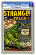 Silver Age (1956-1969):Adventure, Strange Tales #89 (Marvel, 1961) CGC FN 6.0 Off-white to white pages. First appearance of Fin Fang Foom. Jack Kirby cover. K...