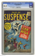 Silver Age (1956-1969):Horror, Tales of Suspense #12 (Marvel, 1960) CGC VG+ 4.5 Cream to off-whitepages. Jack Kirby cover. Kirby, Steve Ditko, Dick Ayers,...