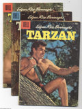 Silver Age (1956-1969):Adventure, Tarzan Group (Dell, 1956-59) Condition: Average VG. This group includes # 80, 81, 82, 83, 85, 87, 88, 90, 91, 92, 93, 94, 96... (Total: 26 Comic Books Item)
