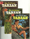 Silver Age (1956-1969):Adventure, Tarzan Group (Dell, 1956-58) Condition: Average VG. This group includes #80, 84, 86, 90, 94, 98, 99, 100, 101, and 102, as w... (Total: 11 Comic Books Item)