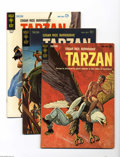 Silver Age (1956-1969):Adventure, Tarzan of the Apes Group (Gold Key, 1962-65) Condition: VF. This group includes #132 (the first Gold Key issue), 133, 135, 1... (Total: 16 Comic Books Item)