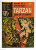 Silver Age (1956-1969):Adventure, Tarzan Lord of the Jungle #1 (Gold Key, 1965) Condition: VF/NM. Jesse Marsh art. Overstreet 2004 VF/NM 9.0 value = $89; NM- ...