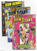 Silver Age (1956-1969):Superhero, Teen Titans and Related Titles Group (DC, 1965-76) Condition: Average VG. This group includes Showcase #59 (the Titans' ... (Total: 6 Comic Books Item)