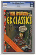 Golden Age (1938-1955):Horror, Three Dimensional EC Classics #1 (EC, 1954) CGC VG 4.0 White pages.Harvey Kurtzman cover. Two pairs of 3-D glasses are incl...
