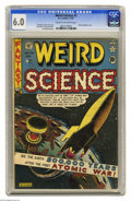 Golden Age (1938-1955):Science Fiction, Weird Science #5 (EC, 1951) CGC FN 6.0 Cream to off-white pages.Atomic explosion cover by Al Feldstein. Interior art by Fel...