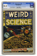 Golden Age (1938-1955):Science Fiction, Weird Science #11 (EC, 1952) CGC VF+ 8.5 Cream to off-white pages.Jack Kamen biography. Al Feldstein cover. Kamen, Joe Orla...