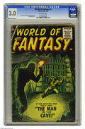 Silver Age (1956-1969):Horror, World of Fantasy #3 (Atlas, 1956) CGC GD/VG 3.0 Off-white pages.Sol Brodsky cover. Sid Check and Dick Ayers art. Overstreet...