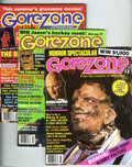 Magazines:Fanzine, Gorezone #1-10 Group (Starlog Press, 1988-90) Condition: Average VF+. Issues 1, 2, 3, 4, 5, 6, 7, 8, 9, and 10 are included ... (Total: 10 Comic Books Item)