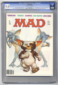 "Magazines:Mad, Mad #249 (EC, 1984) CGC NM/MT 9.8 Off-white to white pages.""Gremlins"" and ""Cheers"" spoofs. Richard Williams cover. Mort Dru..."