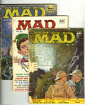Silver Age (1956-1969):Humor, Mad #32-35 and 37-43 Group (EC, 1957-58). This group consists of 11 magazines: #32 (FR); 33 (FR); 34 (FR); 35 (coverless), 3... (Total: 11 Comic Books Item)