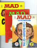 Magazines:Mad, Mad #129-142 Group (EC, 1969-71) Condition: Average VG+. This groupconsists of 14 magazines: # 129, 130, 131, 132, 133, 134... (Total:14 Comic Books Item)