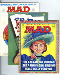 Magazines:Mad, Mad Group (EC, 1971-74) Condition: Average VG+. This group consistsof 17 magazines: # 143, 144, 145, 146, 147, 148, 149, 15... (Total:17 Comic Books Item)