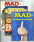 Magazines:Mad, Mad Group (EC, 1974-76) Condition: Average FN-. This group consistsof 14 magazines: # 166, 167, 168, 169, 170, 171, 178, 17... (Total:14 Comic Books Item)