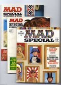 Magazines:Mad, Mad Special #1-5 and 7-9 Group (EC, 1970-72) Condition: AverageVG/FN. This group consists of 8 magazines: #1, 2, 3, 4, 5 (m...(Total: 8 Comic Books Item)