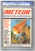 "Magazines:Miscellaneous, Marvel Comics Super Special #14 (Marvel, 1979) CGC NM+ 9.6 Whitepages. ""Meteor"" movie adaptation. Peter Ledger cover art. G..."