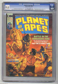 Planet of the Apes #2 (Marvel, 1974) CGC VF/NM 9.0 Off-white to white pages. Bob Larkin cover. Mike Ploog and George Tus...