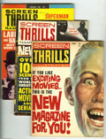 Magazines:Miscellaneous, Screen Thrills Illustrated Group (Warren, 1962-64) Condition:Average VG+. This group includes # 1, 2, 3, 4, 7, 8, 9, and 10...(Total: 8 Comic Books Item)