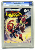 Magazines:Superhero, Spectacular Spider-Man #2 (Marvel, 1968) CGC VF+ 8.5 White pages .Here's a copy of the short lived magazine-sized, full col...