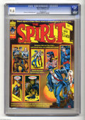 Magazines:Superhero, The Spirit #15 (Warren, 1976) CGC NM+ 9.6 Off-white pages. WillEisner and Bill DuBay cover art. Overstreet 2004 NM- 9.2 val...
