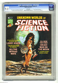 Magazines:Science-Fiction, Unknown Worlds of Science Fiction #5 (Marvel, 1975) CGC NM- 9.2White pages. Gene Colan, Gray Morrow, Mike Kaluta, and Howar...