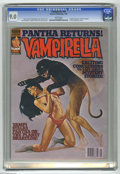 Bronze Age (1970-1979):Horror, Vampirella #66 (Warren, 1978) CGC VF/NM 9.0 White pages. Panthabecomes a regular member of this series. Enrich Torres cover...