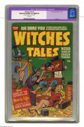 "Golden Age (1938-1955):Horror, Witches Tales #5 (Harvey, 1951) CGC Apparent VF/NM 9.0 Slight (A)White pages. Rudy Palais art. CGC notes: ""Restoration incl..."