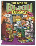 Bronze Age (1970-1979):Alternative/Underground, The Best of Bijou Funnies First Printing Cover Proof (Bijou Publishing, 1975) Condition:NM. An unused, wraparound cover that...