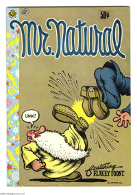 Mr. Natural #1 (Apex Novelties, 1970) Condition: VG/FN. Robert Crumb story/art. Third printing. Listed in Jerry Weist's...