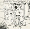 Original Comic Art:Covers, Dan DeCarlo - Reggie's Wise Guy Jokes #7 Cover Original Art(Archie, 1969). Reggie, Archie and Jughead are spotlighted on th...(Total: 2 items Item)