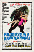 """Movie Posters:Comedy, Hillbillys in a Haunted House (Woolner Brothers, 1967) Folded,Fine/Very Fine. One Sheet (27"""" X 41""""). Comedy...."""