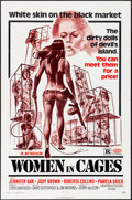 """Movie Posters:Sexploitation, Women in Cages & Other Lot (New World, 1971) Folded, VeryFine-. One Sheets (2) (27"""" X 41""""). Joseph Smith Artwork.Sexploita... (Total: 2 Items)"""