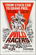 "Movie Posters:Sports, Wild Racers (American International, 1968) Folded, Very Fine+. One Sheet (27"" X 41""). Sports...."