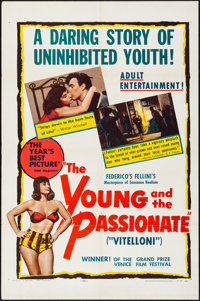 "The Young and the Passionate (Janus Films, 1953) Folded, Fine/Very Fine. One Sheet (27"" X 41""). Foreign"