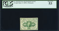 Fractional Currency:First Issue, Fr. 1242 10¢ First Issue PCGS About New 53.. ...