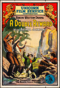 """Movie Posters:Western, The Tenderfoot's Triumph (Unicorn Film Service Corporation, R-1916) Folded, Fine-. One Sheet (27.5"""" X 41"""") Reissue Title: ..."""